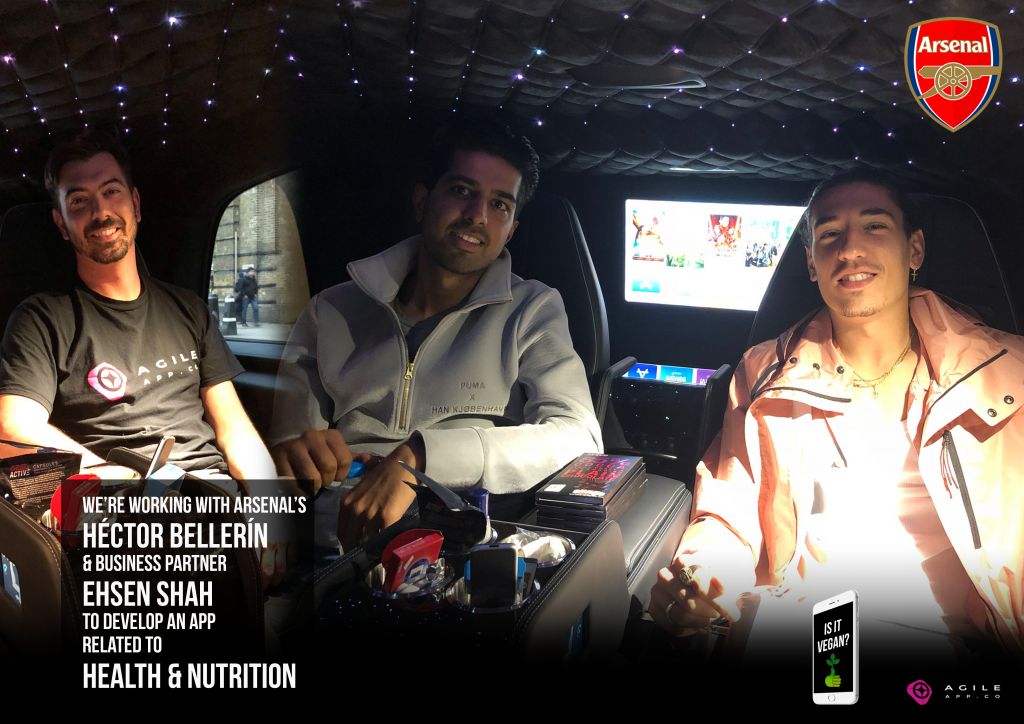 Hector Bellerin Vegan App